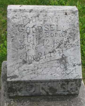 GOODSELL, PHILENA - Dakota County, Nebraska | PHILENA GOODSELL - Nebraska Gravestone Photos