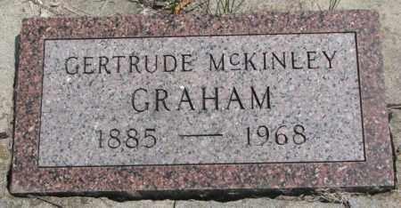 MCKINLEY GRAHAM, GERTRUDE - Dakota County, Nebraska   GERTRUDE MCKINLEY GRAHAM - Nebraska Gravestone Photos