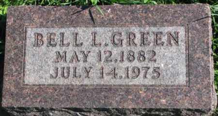 GREEN, BELL L. - Dakota County, Nebraska | BELL L. GREEN - Nebraska Gravestone Photos