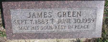 GREEN, JAMES - Dakota County, Nebraska | JAMES GREEN - Nebraska Gravestone Photos