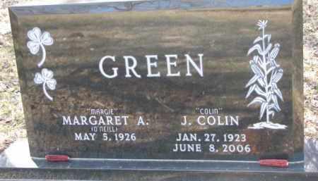 GREEN, MARGARET A. - Dakota County, Nebraska | MARGARET A. GREEN - Nebraska Gravestone Photos