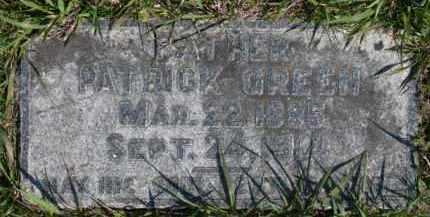 GREEN, PATRICK - Dakota County, Nebraska | PATRICK GREEN - Nebraska Gravestone Photos
