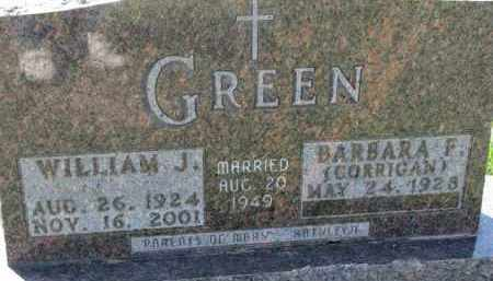 GREEN, BARBARA F. - Dakota County, Nebraska | BARBARA F. GREEN - Nebraska Gravestone Photos