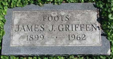GRIFFEN, JAMES J. - Dakota County, Nebraska | JAMES J. GRIFFEN - Nebraska Gravestone Photos