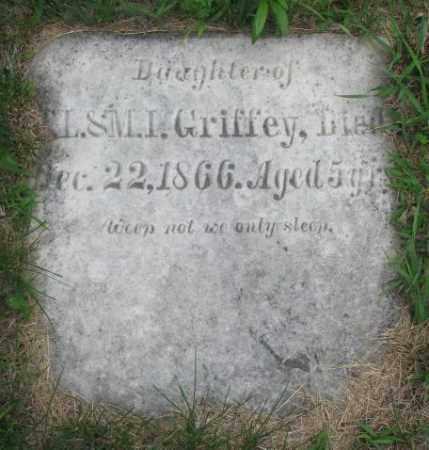 GRIFFEY, DAUGHTER - Dakota County, Nebraska   DAUGHTER GRIFFEY - Nebraska Gravestone Photos
