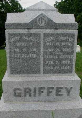 GRIFFEY, ISABELLA - Dakota County, Nebraska | ISABELLA GRIFFEY - Nebraska Gravestone Photos