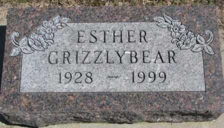 GRIZZLYBEAR, ESTHER - Dakota County, Nebraska | ESTHER GRIZZLYBEAR - Nebraska Gravestone Photos