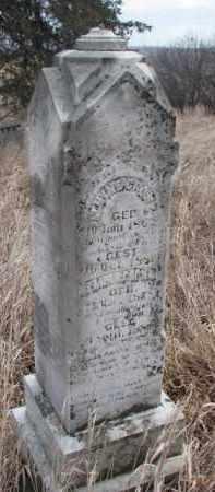 GRONE, ALMINE - Dakota County, Nebraska   ALMINE GRONE - Nebraska Gravestone Photos