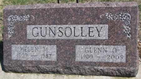 GUNSOLLEY, GLENN O. - Dakota County, Nebraska | GLENN O. GUNSOLLEY - Nebraska Gravestone Photos