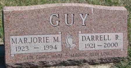 GUY, MARJORIE M. - Dakota County, Nebraska   MARJORIE M. GUY - Nebraska Gravestone Photos