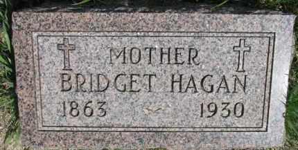 HAGAN, BRIDGET - Dakota County, Nebraska   BRIDGET HAGAN - Nebraska Gravestone Photos