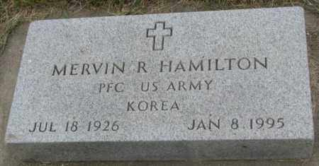 HAMILTON, MERVIN R. - Dakota County, Nebraska   MERVIN R. HAMILTON - Nebraska Gravestone Photos