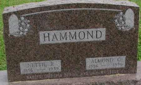 HAMMOND, NETTIE R. - Dakota County, Nebraska   NETTIE R. HAMMOND - Nebraska Gravestone Photos
