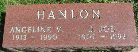 HANLON, ANGELINE V. - Dakota County, Nebraska | ANGELINE V. HANLON - Nebraska Gravestone Photos
