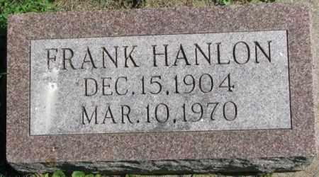 HANLON, FRANK - Dakota County, Nebraska | FRANK HANLON - Nebraska Gravestone Photos