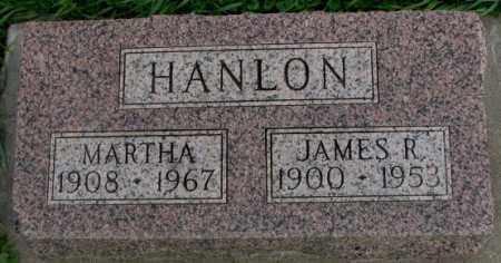HANLON, MARTHA - Dakota County, Nebraska | MARTHA HANLON - Nebraska Gravestone Photos
