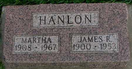 HANLON, JAMES R. - Dakota County, Nebraska | JAMES R. HANLON - Nebraska Gravestone Photos