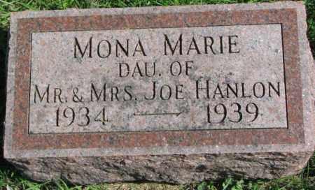 HANLON, MONA MARIE - Dakota County, Nebraska | MONA MARIE HANLON - Nebraska Gravestone Photos