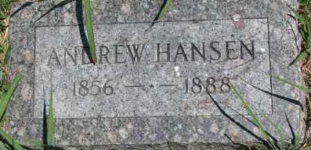 HANSEN, ANDREW - Dakota County, Nebraska | ANDREW HANSEN - Nebraska Gravestone Photos