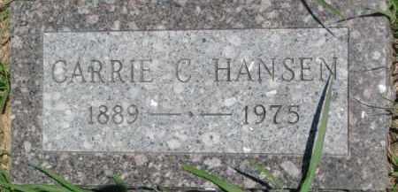HANSEN, CARRIE C. - Dakota County, Nebraska | CARRIE C. HANSEN - Nebraska Gravestone Photos