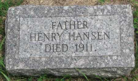 HANSEN, HENRY - Dakota County, Nebraska | HENRY HANSEN - Nebraska Gravestone Photos