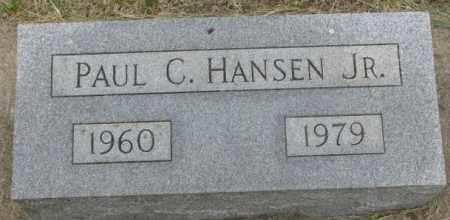 HANSEN, PAUL C. JR. - Dakota County, Nebraska | PAUL C. JR. HANSEN - Nebraska Gravestone Photos