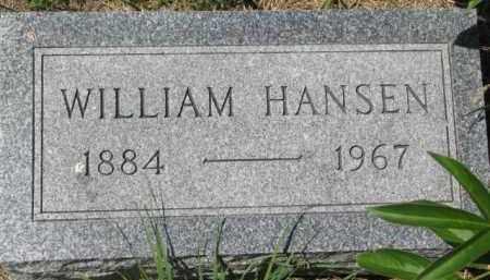 HANSEN, WILLIAM - Dakota County, Nebraska   WILLIAM HANSEN - Nebraska Gravestone Photos