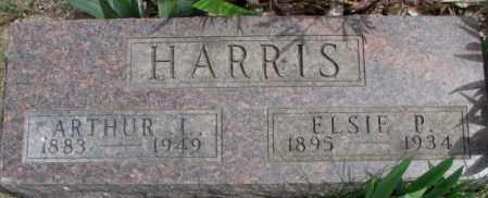 HARRIS, ELSIE P. - Dakota County, Nebraska | ELSIE P. HARRIS - Nebraska Gravestone Photos