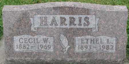 HARRIS, CECIL W. - Dakota County, Nebraska | CECIL W. HARRIS - Nebraska Gravestone Photos