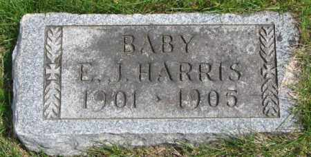 HARRIS, E.J. - Dakota County, Nebraska | E.J. HARRIS - Nebraska Gravestone Photos