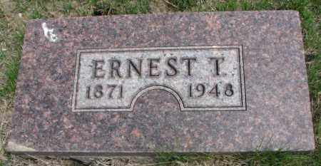 HARRIS, ERNEST T. - Dakota County, Nebraska | ERNEST T. HARRIS - Nebraska Gravestone Photos