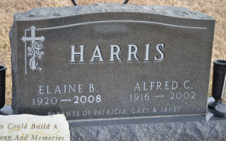 HARRIS, ELAINE B. - Dakota County, Nebraska | ELAINE B. HARRIS - Nebraska Gravestone Photos