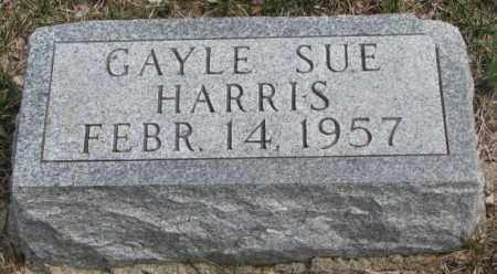 HARRIS, GAYLE SUE - Dakota County, Nebraska | GAYLE SUE HARRIS - Nebraska Gravestone Photos
