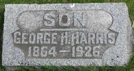 HARRIS, GEORGE H. - Dakota County, Nebraska | GEORGE H. HARRIS - Nebraska Gravestone Photos