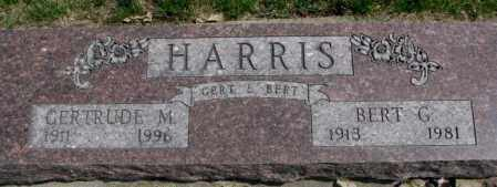 HARRIS, BERT G. - Dakota County, Nebraska | BERT G. HARRIS - Nebraska Gravestone Photos