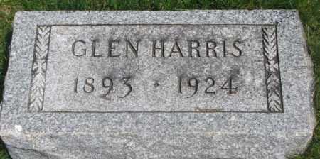 HARRIS, GLEN - Dakota County, Nebraska | GLEN HARRIS - Nebraska Gravestone Photos