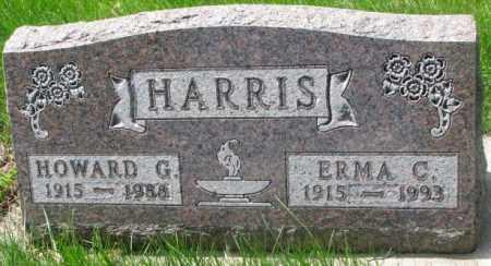 HARRIS, HOWARD G. - Dakota County, Nebraska | HOWARD G. HARRIS - Nebraska Gravestone Photos