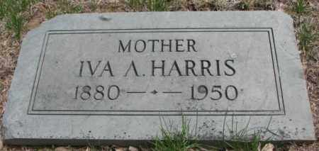 HARRIS, IVA A. - Dakota County, Nebraska | IVA A. HARRIS - Nebraska Gravestone Photos