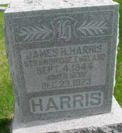 HARRIS, JAMES H. - Dakota County, Nebraska | JAMES H. HARRIS - Nebraska Gravestone Photos
