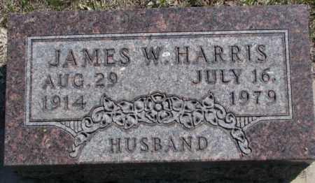 HARRIS, JAMES W. - Dakota County, Nebraska   JAMES W. HARRIS - Nebraska Gravestone Photos