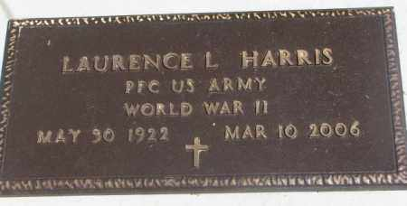 HARRIS, LAURENCE L. (WW II) - Dakota County, Nebraska | LAURENCE L. (WW II) HARRIS - Nebraska Gravestone Photos