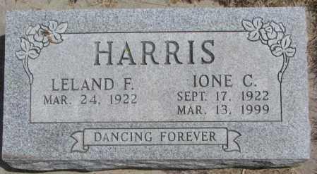 HARRIS, LELAND F. - Dakota County, Nebraska | LELAND F. HARRIS - Nebraska Gravestone Photos