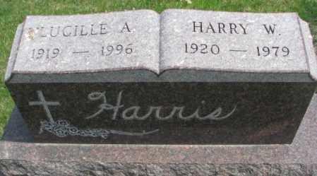 HARRIS, LUCILLE A. - Dakota County, Nebraska   LUCILLE A. HARRIS - Nebraska Gravestone Photos