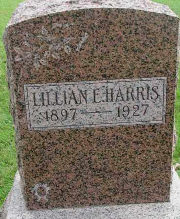 HARRIS, LILLIAN E. - Dakota County, Nebraska | LILLIAN E. HARRIS - Nebraska Gravestone Photos