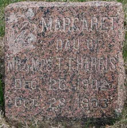 HARRIS, MARGARET - Dakota County, Nebraska | MARGARET HARRIS - Nebraska Gravestone Photos