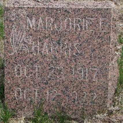HARRIS, MARJORIE E. - Dakota County, Nebraska | MARJORIE E. HARRIS - Nebraska Gravestone Photos