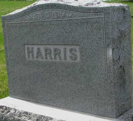 HARRIS, PLOT - Dakota County, Nebraska   PLOT HARRIS - Nebraska Gravestone Photos