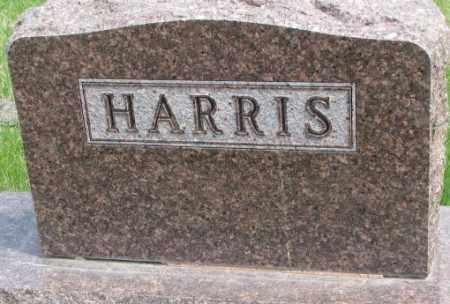 HARRIS, PLOT - Dakota County, Nebraska | PLOT HARRIS - Nebraska Gravestone Photos