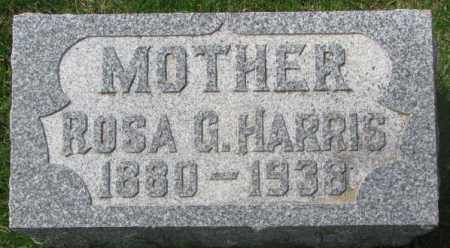 HARRIS, ROSA G. - Dakota County, Nebraska | ROSA G. HARRIS - Nebraska Gravestone Photos