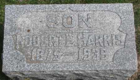 HARRIS, ROBERT E. - Dakota County, Nebraska | ROBERT E. HARRIS - Nebraska Gravestone Photos